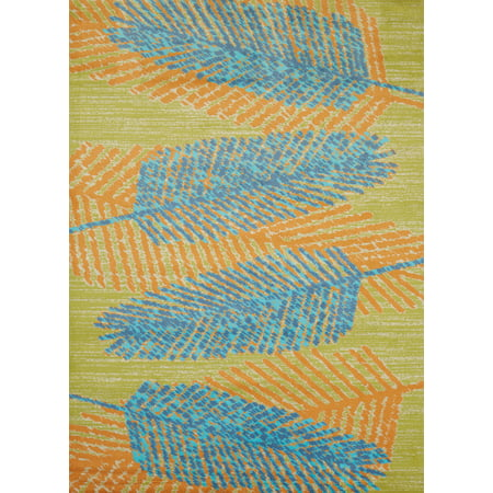 United Weavers Panama Jack Island Breeze Breezy Days Aqua Accent Rug 1'10'' x 3' ()