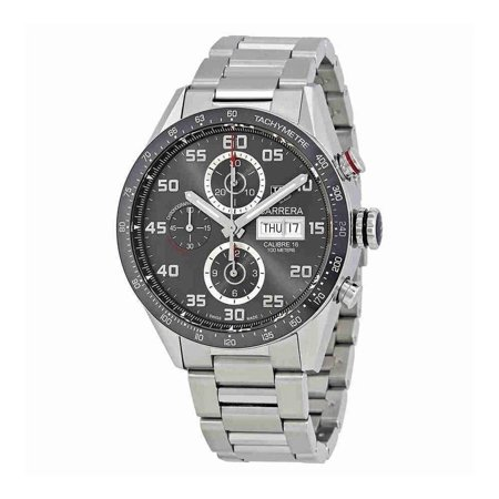 Tag Heuer  Men's CV2A1U.BA0738 'Carrera' Chronograph Automatic Stainless Steel
