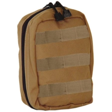 Aid Pouch (Fully Stocked MOLLE Tactical Trauma Kits First Aid)