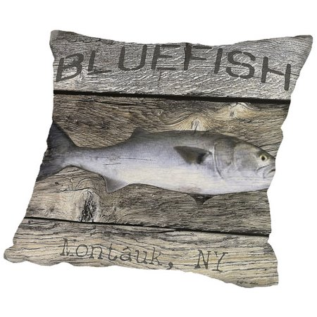 Americanflat blue fish throw pillow for Fish throw pillows