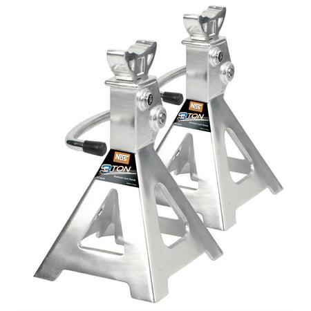 Aluminum Jack Stands (Jack Stand Ratchet Style 3 Ton Aluminum )