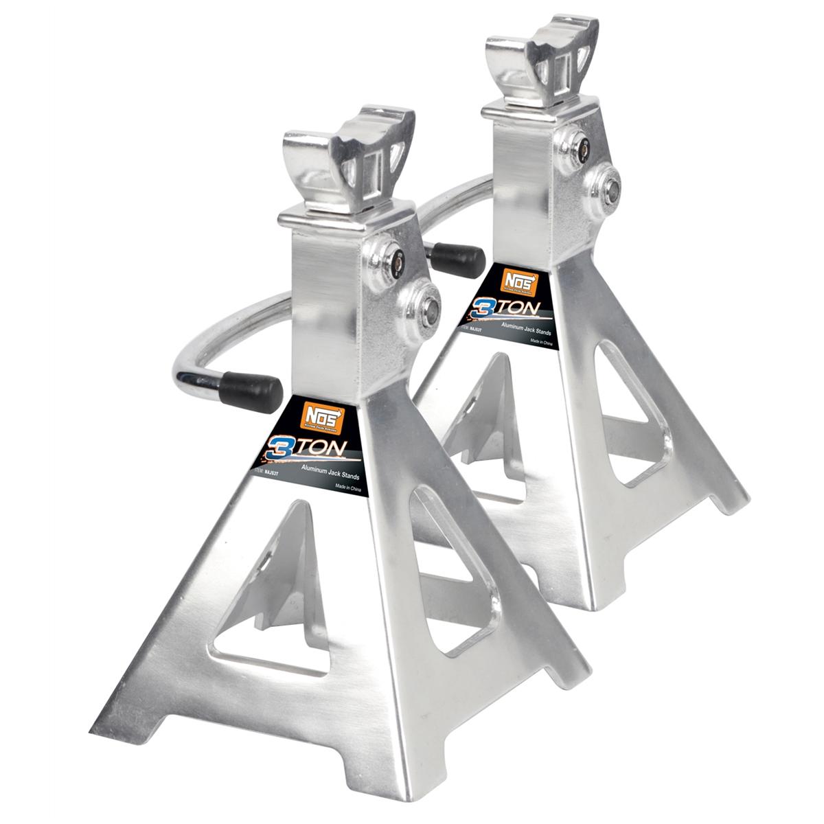 Jack Stand Ratchet Style 3 Ton Aluminum