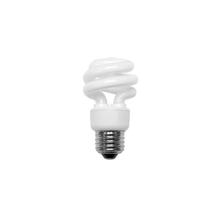 TCP 801019 T3 Compact Fluorescent Lamp 19 Watt E26 Medium Base 82 CRI 2700K 75 Watt Incandescent SpringLight SpringLamp 75 Watt Maximum Mr16 Lamp