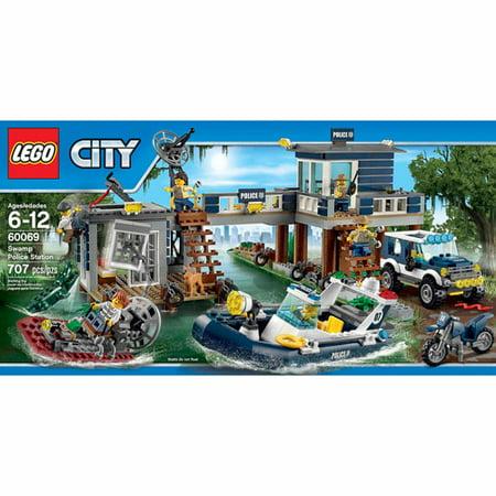 lego city police swamp police station