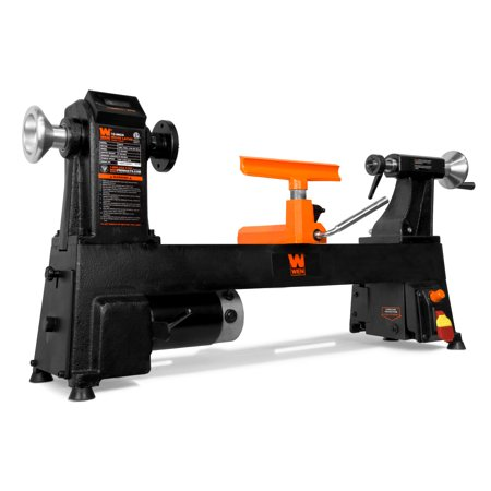 WEN 12-Inch by 18-Inch Variable Speed Cast Iron Wood Lathe, 34018