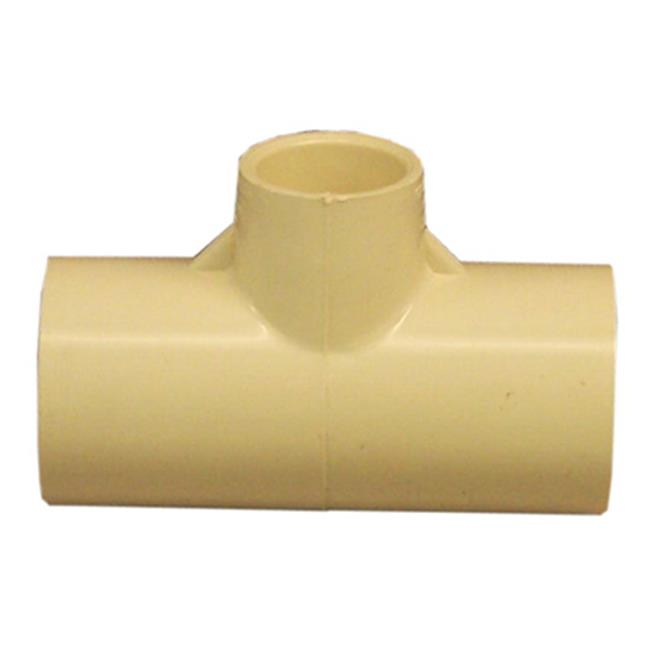 Genova Products 51476 0.75 x 0.5 x 0.75 in. CPVC Tee, Beige - image 1 de 1