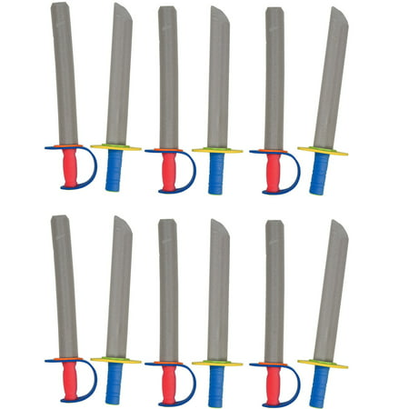 Tigerdoe - Foam Swords for Kids - Toy Swords - Ninja Swords - Toy Weapons Swords - 12 Pack](Toy Knight Swords)