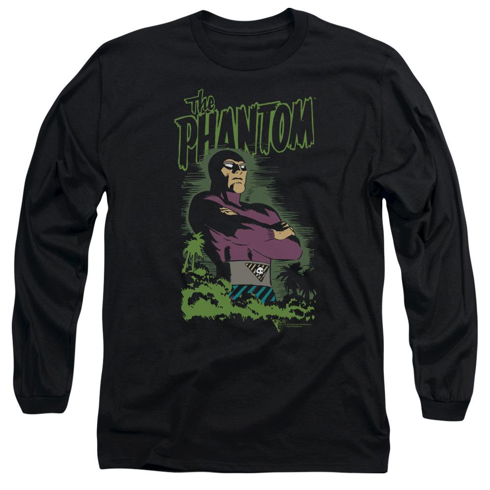 PHANTOM/JUNGLE PROTECTOR-L/S ADULT 18/1-BLACK-LG