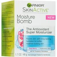 Garnier SkinActive Gel Face Moisturizer with Hyaluronic Acid, 1.7 oz.