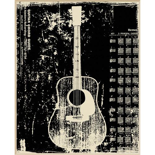 Guitar Wall Decor, Plaque   Walmart.com