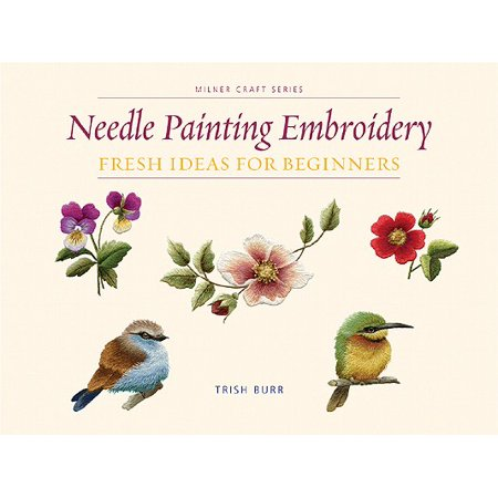 Needle Painting Embroidery : Fresh Ideas for Beginners](Face Painting Ideas For Dracula For Halloween)