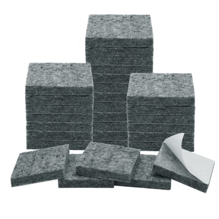 "Felt Furniture Pad Square 7/8"" Self Adhesive Anti-scratch Floor Protector 30pcs - image 1 of 7"