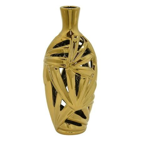 Three Hands Decorative Pierced Ceramic (Pierced Vase)