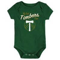 Portland Timbers Newborn & Infant My New First Bodysuit - Green