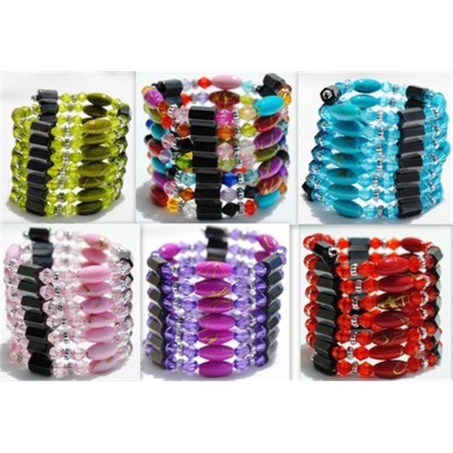 Bulk Buys Magnetic Hematite Wraps-Lariats-Necklace-Bracel...
