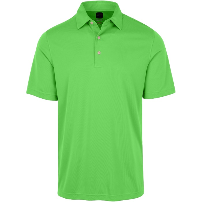 Greg Norman Mens Protek Ml75 Microlux Solid Polo