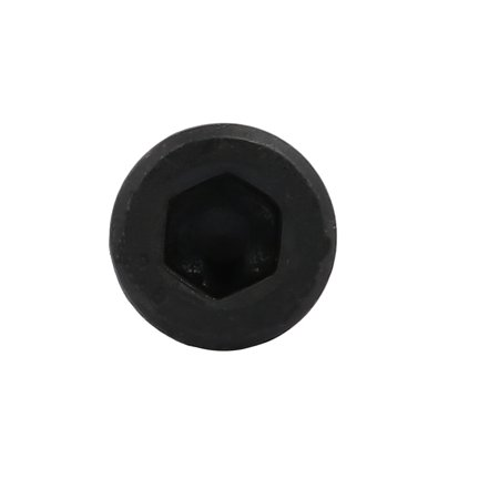 8.8 Grade M8x80mm Partial Threaded Hex Socket Drive Left Hand Thread Bolt Black - image 2 of 3