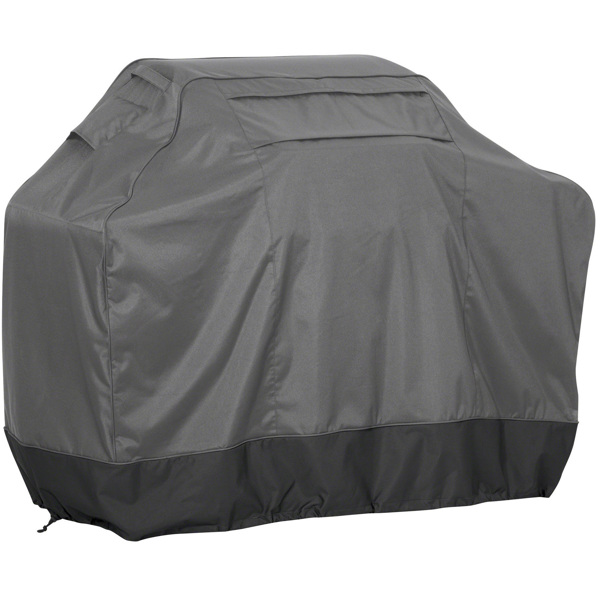 Classic Accessories FadeSafe BBQ Grill Cover, Medium, Dark Shadow and Raven