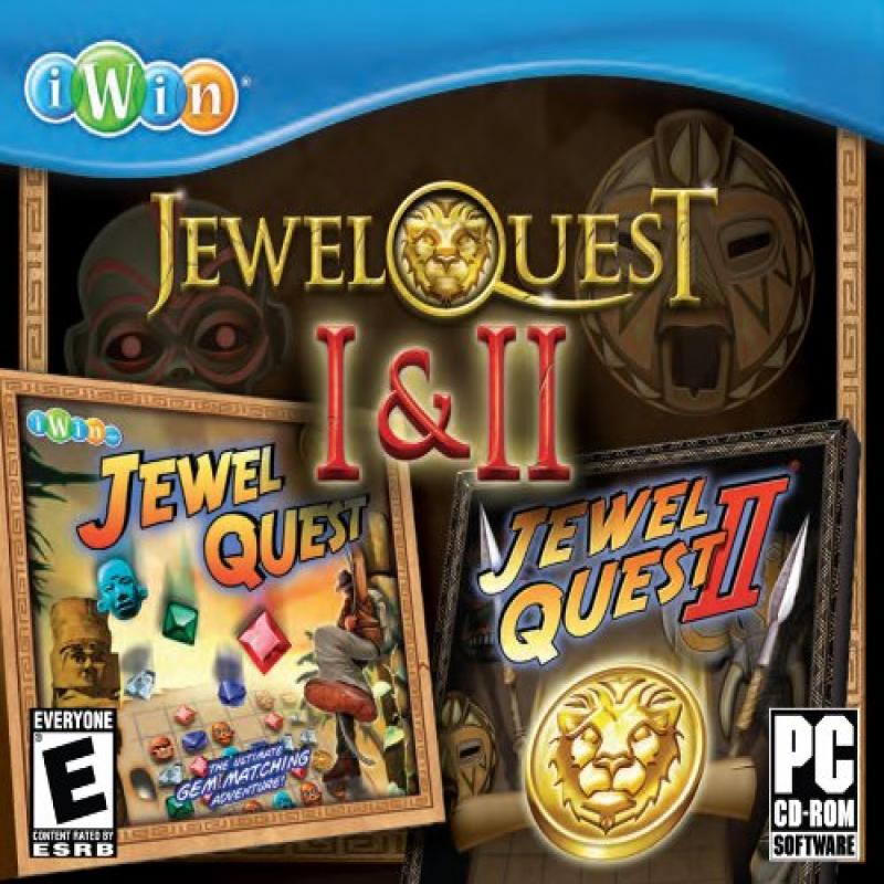 ENCORE Jewel Quest 1 And 2 JC