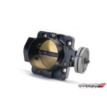 Skunk2 Pro-Series Billet Throttle Body - Black 70mm B-Series - Integra/Civic/Del Sol - 1990-2001 -