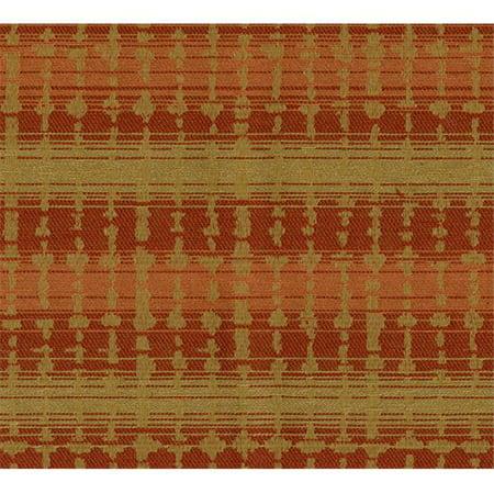 Crypton Sound 44 Woven Jacquards Fabric, Pumpkin