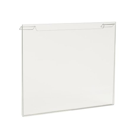 Econoco HP - SG811H 11 W x 8.5 H in. Acrylic Horizontal For Slatwall - Gridwall - image 1 of 1
