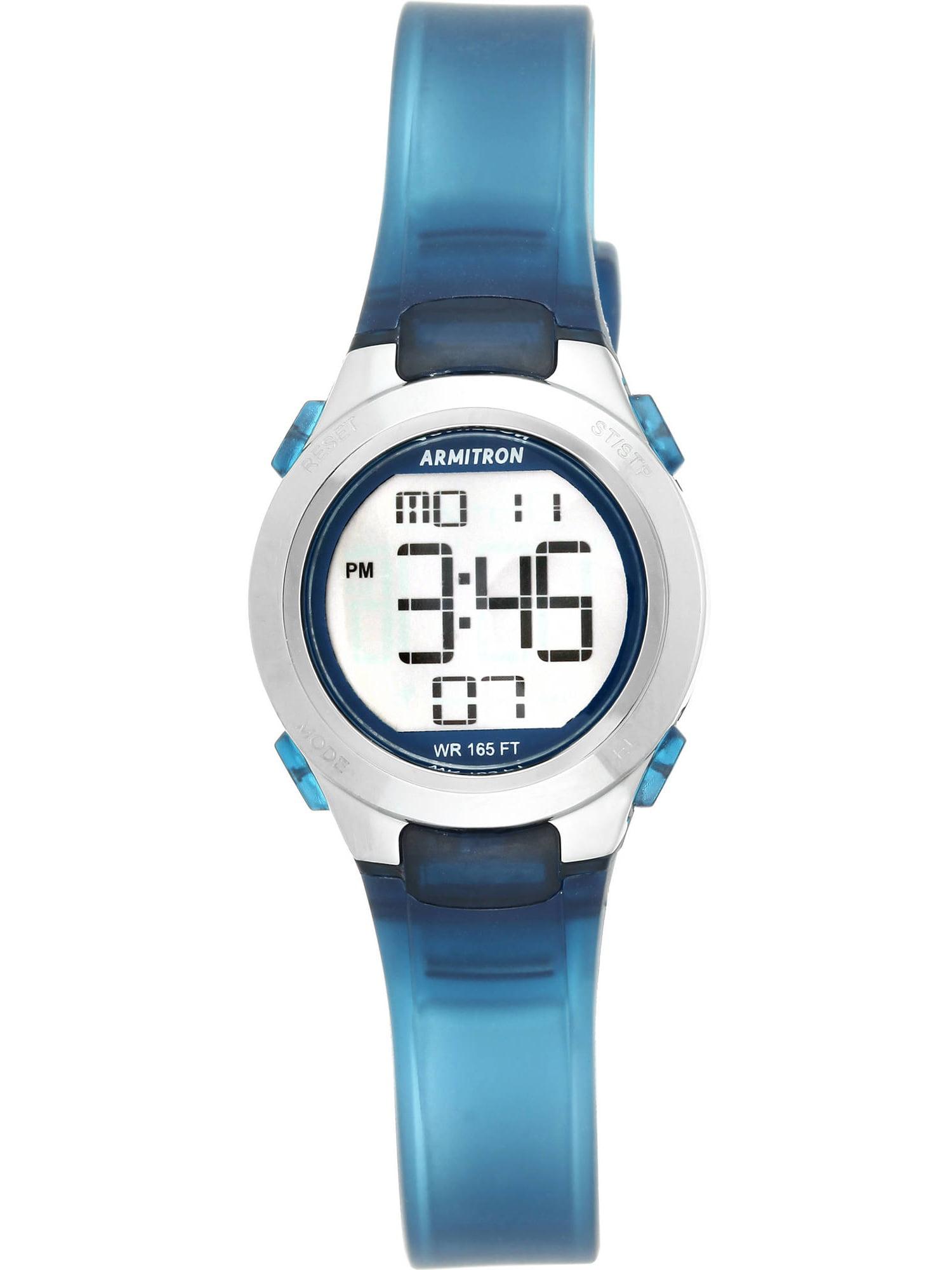 Armitron Round Sport Watch, Navy Blue