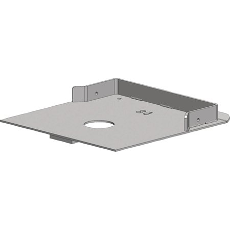 Pullrite 331758 Quick Connect Capture Plate For Most Trailair Airbag Shock King Pin Box Models