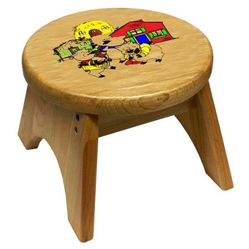 Holgate HZ9317 3 Little Pigs Step Stool