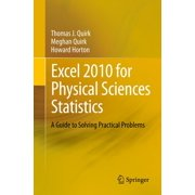 Excel 2010 for Physical Sciences Statistics - eBook