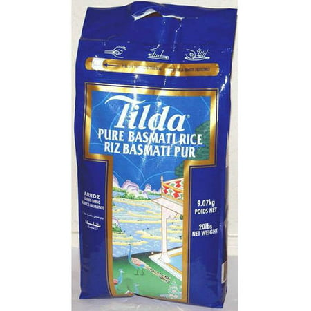 Tilda Pure Original Basmati Rice, 20 Lbs - (Original Rise)
