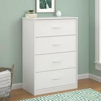 Deals on Mainstays 4-Drawer Dresser