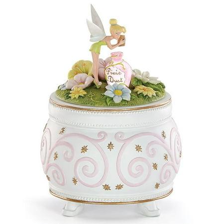Disney's Pixie Sprinkle Trinket Box by Lenox (Lenox Trinket Box)