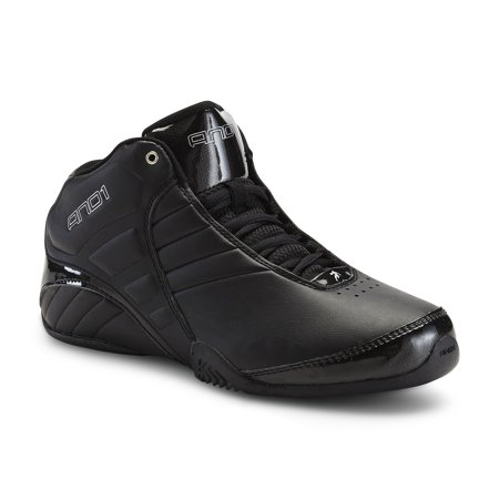 AND1 Rocket 3.0 Mid Mens Black Basketball Running Shoes
