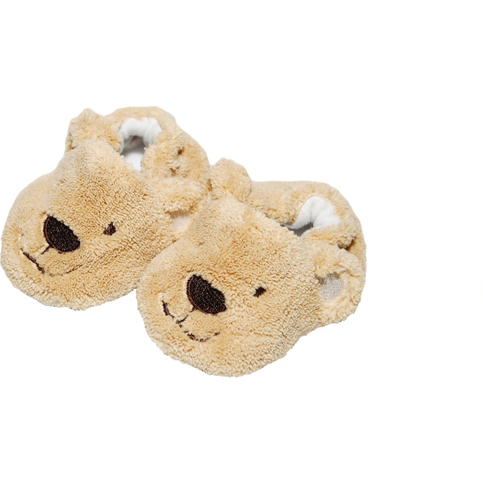 Newborn Baby Boy Bear Slippers, 0-3M - Walmart.com