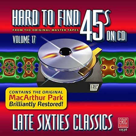 Hard To Find 45s On Cd V17: Late Sixties / Var - Girls From The Sixties