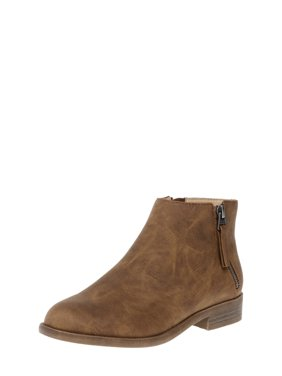 Womens Time And Tru Two Zip Bootie
