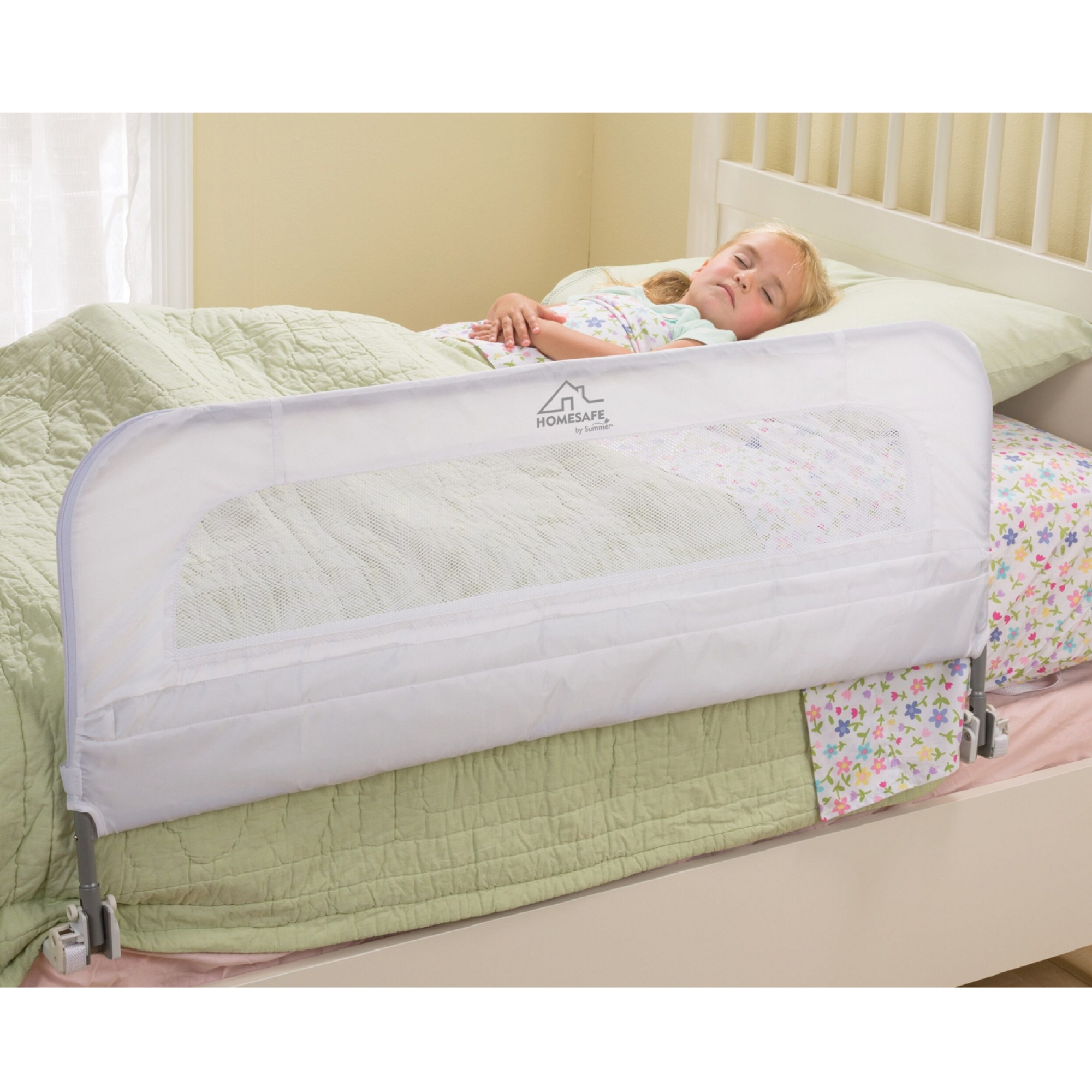 Home Safe Serenity Single Fold Bed Rail