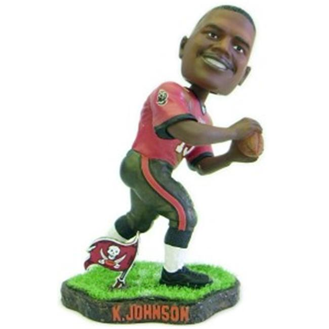 Tampa Bay Buccaneers Keyshawn Johnson Game Worn Forever Collectibles Bobble Head