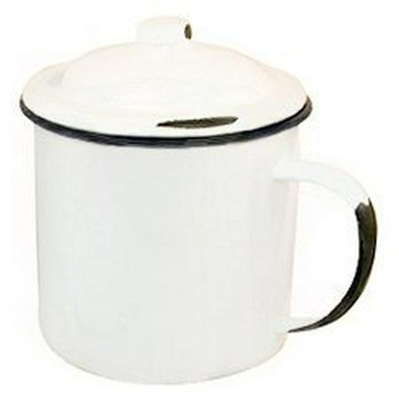 Primitive Country Rustic Enamelware Enamel Mug (Enamelware Enamel)