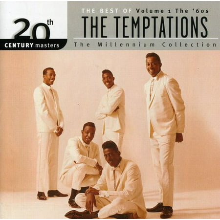 The Temptations - 20th Century Masters: The Millennium Collection: Best Of The Temptations, Vol.1 - The '60s (CD) (20th Century Classical Music)
