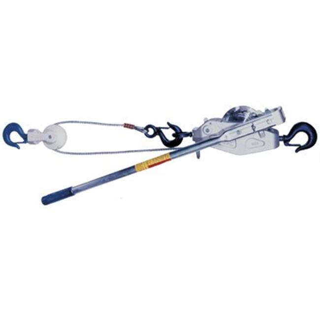 Lug-All 447-2250-15SH 1-1-8Ton Cable Winch-Hoist W-Latch ...