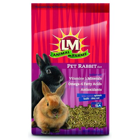 LM Animal Farms Pet Rabbit Diet 8 lbs