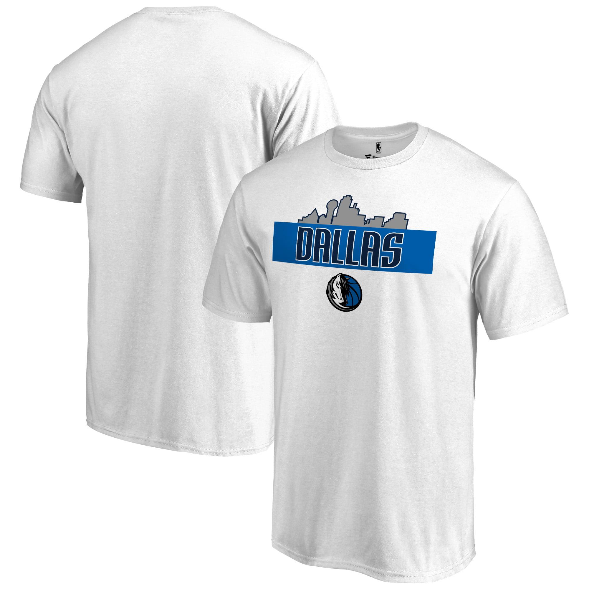 Dallas Mavericks Hometown Collection Skyline T-Shirt - White