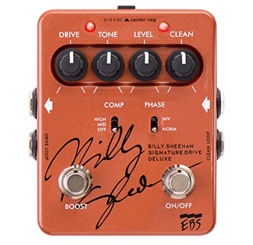 EBS Billy Sheehan Signature Drive Deluxe Signature Bass Pedal by EBS