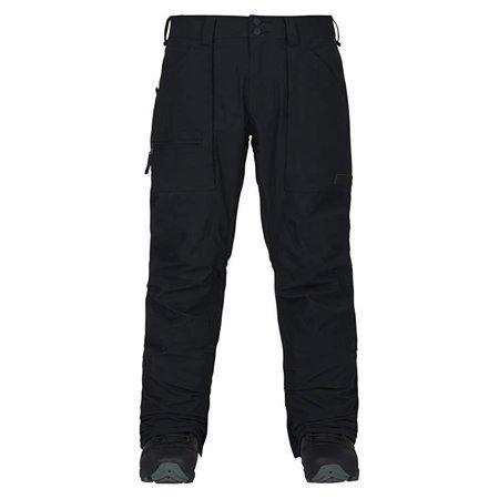 2012 Burton Mens Snowboard - Burton Southside Regular Fit Ski Snowboard Pants True Black, Men's SZ Large