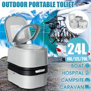 Best Flushing Toilets - 10/12/20/24L Indoor/Outdoor Portable Flushing Toilet for RVs / Review