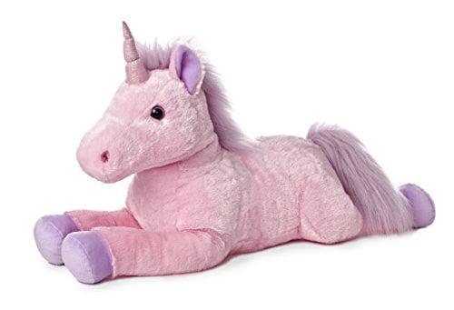with Enjoy The Little Things Drawstring Bag Aurora World Inc Teal and Pink Aurora World 8 Mini Flopsie Plush Llamas Set of 2
