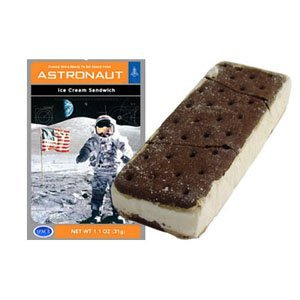 Astronaut Ice Cream Sandwich, Freeze-dried vanilla ice cream with chocolate wafers By Incredible Science by
