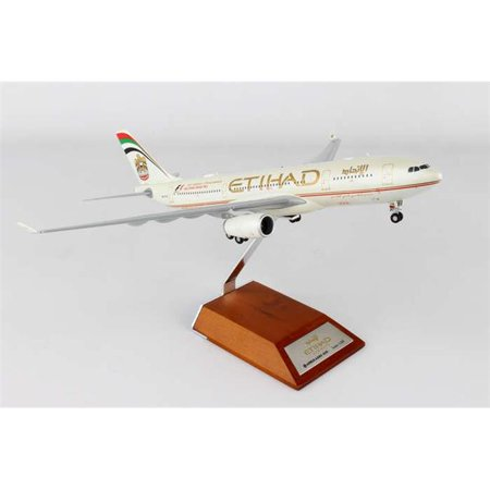 JC Wings JC2ETD962 Etihad A330 - 200 1 by 200 Old Livery F1 Reg A6 - Eyn with Stand